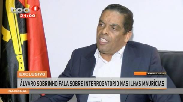 ÁLVARO SOBRINHO NO BANCO VALOR COM 'SILÊNCIO' DO BNA