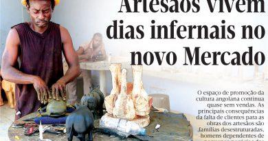 ARTESÃOS VIVEM DIAS INFERNAIS NO NOVO MERCADO