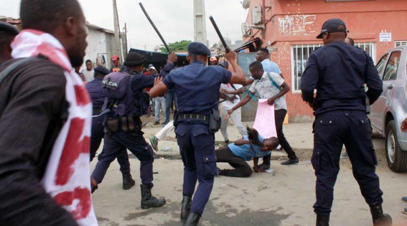 Luanda: detidos 18 activistas em marcha contra desemprego
