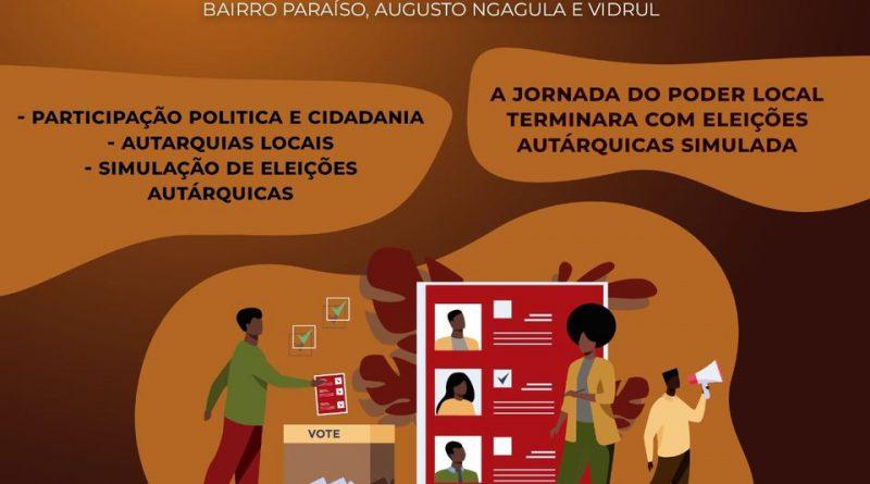 """Coordenador do """"Projecto AGIR"""" diz que """"Jornadas do Poder Local"""" visam incentivar participação da cidadania nas autarquias"""