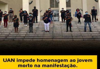 Universidade Agostinho Neto acusado de impedir homenagem ao estudante morto na manifestação