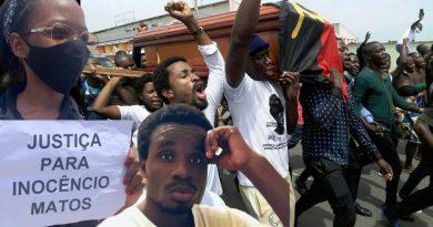"""Friends of Angola exige em """"petição pública"""" responsabilização de agentes da Polícia Nacional pela morte de Inocêncio Matos"""