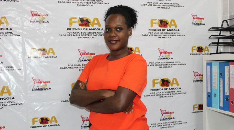 Jurista Délcia Chitém é a nova directora da FoA em Angola