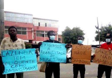 """População do Cazenga agenda manifestação na sede da administração contra milícia """"Turma do Apito"""" no município"""