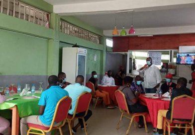Adriano Sapiñala apresenta visão da UNITA aos fazedores de opinião em Benguela