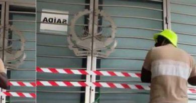 Em Portugal: Activista fecha com cadeado portas do consulado geral de Angola em Lisboa
